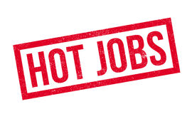 Hot Jobs rubber stamp Royalty Free Stock Photos