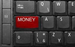 Hot key. In black notepad keyboard Royalty Free Stock Image