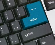 Hot key for action Stock Photo
