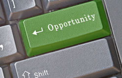 Hot key for opportunity Royalty Free Stock Photography