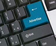 Hot key to  advertise Royalty Free Stock Photo