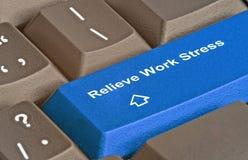 Hot key to relieve work stress Stock Photos