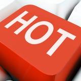 Hot Keys Show Fantastic Or Great Deals Stock Photo