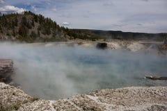 Hot lake Stock Image