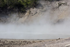 Hot lake in yellowstone Royalty Free Stock Photo