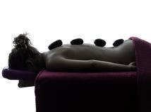 Hot lastones massage therapy Royalty Free Stock Photos