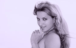 Hot latin female model Royalty Free Stock Photography