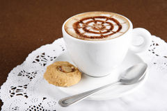 Hot latte Royalty Free Stock Photography