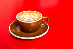 Hot latte Stock Images
