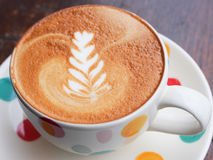 Hot Latte is good for your morning Stock Image