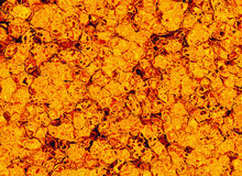 Hot lava fire texture. After eruption volcano Stock Photography