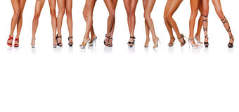 HOT LEGS stock photography