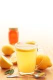 Hot lemon Stock Photography