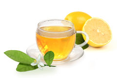Hot lemon for a cold Royalty Free Stock Images