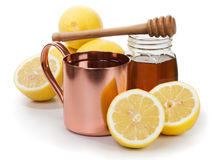 Hot Lemon Drink Stock Image