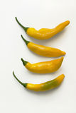Hot Lemon Peppers Stock Photos