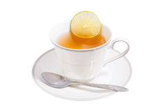 Hot lemon tea Royalty Free Stock Photo