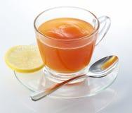 Hot Lemon Tea stock image