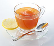 Hot Lemon Tea stock photos