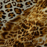 Hot leopard skin seamless background Stock Images