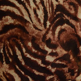 Hot leopard skin seamless background. Used as raw material for screen and print pattern stock image