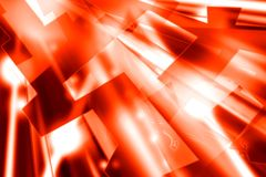 Hot light. Digital illustration of red and white diagonal shafts of light stock illustration