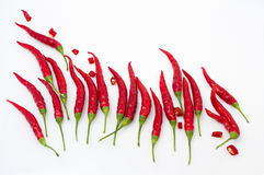 Hot like fire, red chili pepper. Red chili, symbolizing fire and heat - a great idea for design or ornament Stock Photos