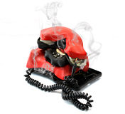 Hot Line Royalty Free Stock Photography