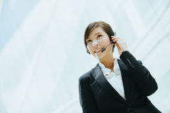 Hot line support Royalty Free Stock Image