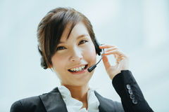Hot line support Stock Images