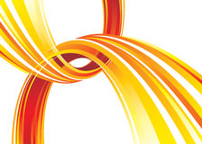 Hot Link. Red hot communications connection background, vector layered Royalty Free Stock Photos