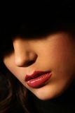 Hot lips royalty free stock photography