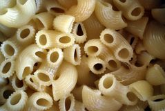 Hot Macaroni Close-Up Royalty Free Stock Photo