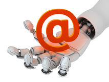 Hot mail Royalty Free Stock Image