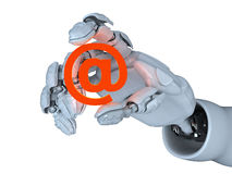 Hot mail Stock Photo