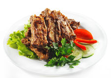 Hot Meat Dishes - BBQ Meat Stock Photography