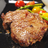 Hot Meat Dishes - Ribai Stock Photos