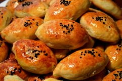 Free Hot Meat Pies. Meat Patties. Homemade Cooking. Natural Image. Grandma&x27;s Pies Stock Photography - 68387892