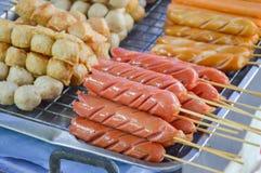 Hot meatball Stock Photography