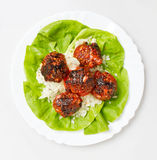 Hot Meatballs Stock Photography