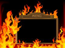 Hot menu Stock Photo