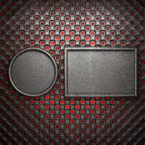 Hot metal background Royalty Free Stock Photography