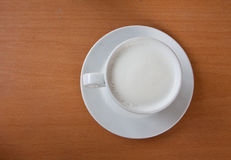 Hot milk beverage Stock Image