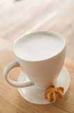 Hot milk Stock Photography