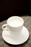 Hot milk cup Royalty Free Stock Photography