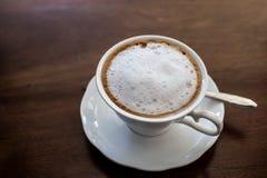 Hot milk  Latte coffee Stock Image