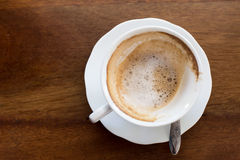 Hot milk  Latte coffee Stock Photography