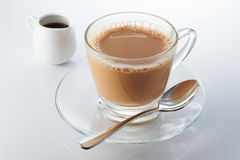 Hot Milk Tea Royalty Free Stock Images