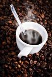 Hot mocha coffee Royalty Free Stock Image