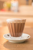 hot mocha coffee Stock Photography